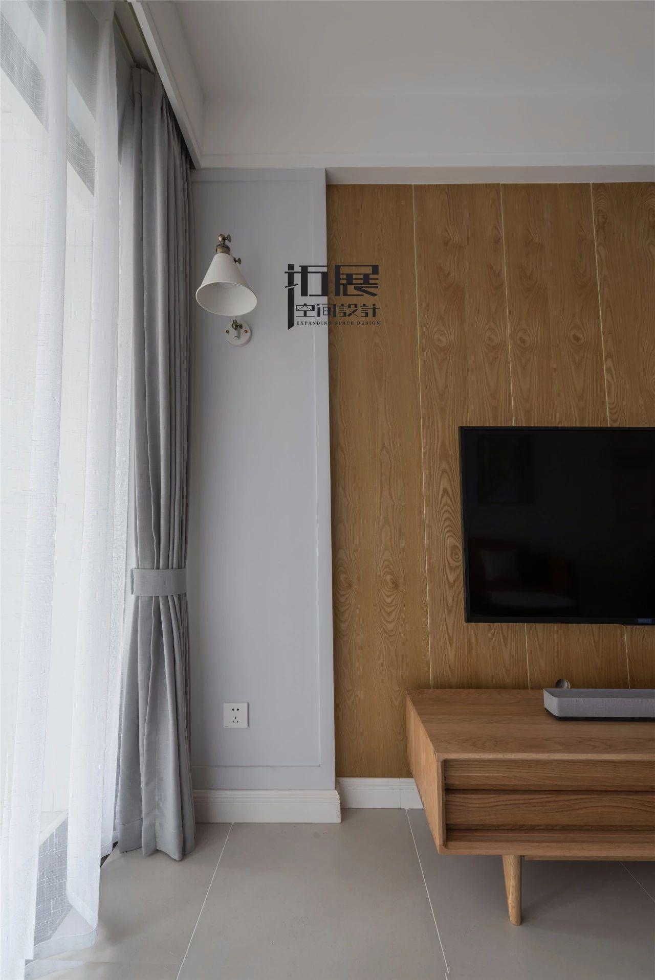小户型北欧风格装修窗帘图片