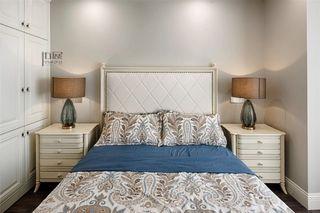 143平轻奢美式风装修卧室背景墙图片