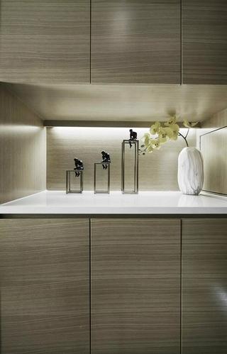 小戶型北歐風公寓裝修鞋柜設計圖