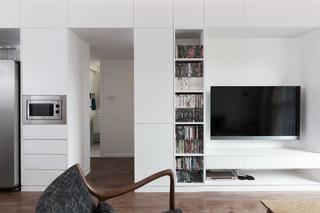 小户型简约二居室装修效果图