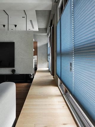 158平现代简约三居装修地台设计图