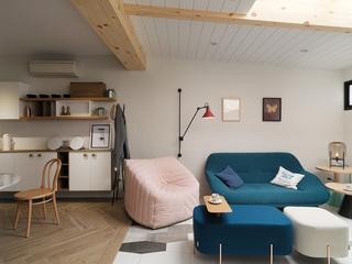 112平北欧风公寓装修效果图