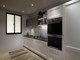 112平北欧风公寓装修厨房效果图