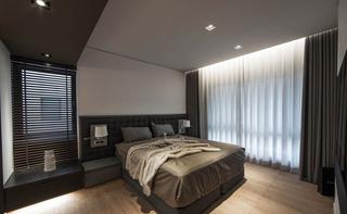 165㎡现代风格三居卧室装修效果图