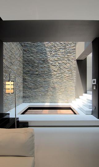 现代风格复式别墅装修阳光房效果图