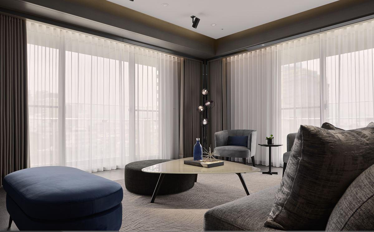 大户型现代风格家客厅装修效果图