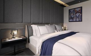 大户型现代风格家卧室背景墙效果图