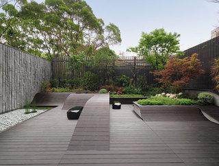大户型现代风格装修花园效果图