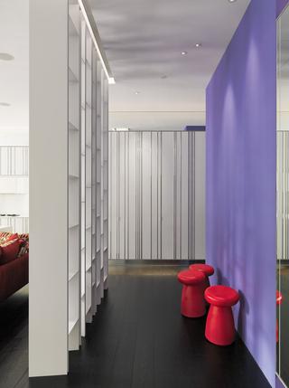 大户型现代风格玄关装修设计效果图