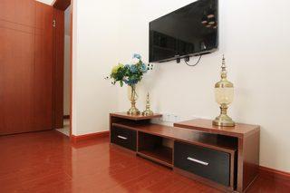85㎡现代风格二居室装修电视柜设计图