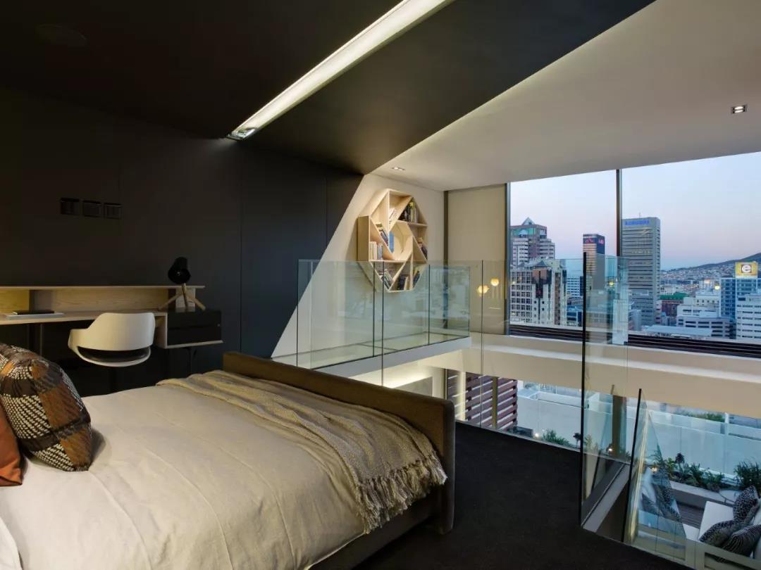 Loft风格公寓卧室装修效果图