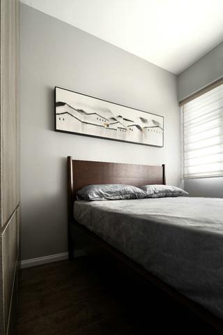 现代风三居之家卧室背景墙图片
