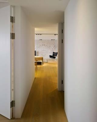 155㎡三居室设计走廊图片