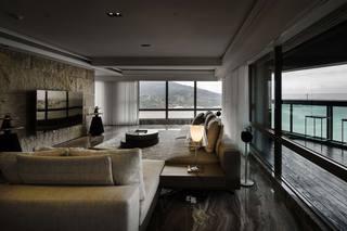 165平三居室公寓装修效果图
