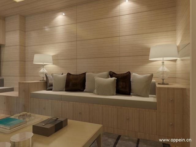如果客厅没有沙发该怎么办?客厅不用沙发效果图
