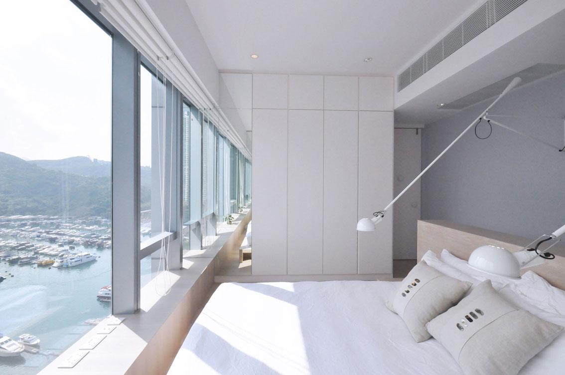 北欧简约风格一居卧室装修效果图