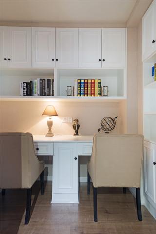 350平米美式别墅书房装修效果图