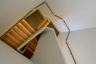 美式混搭风格别墅楼梯装修效果图
