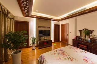 400平中式风格别墅装修梳妆台设计图
