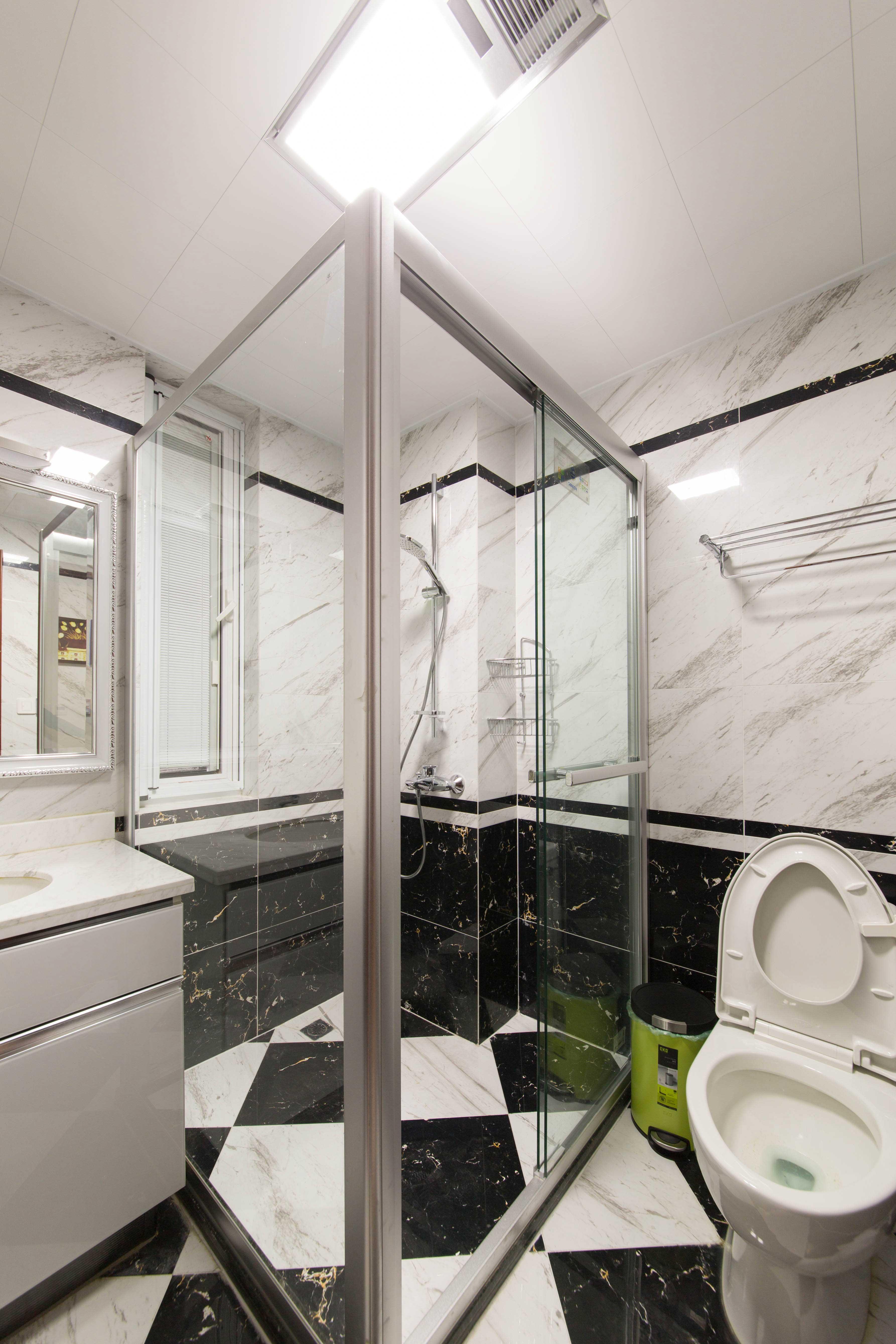 400平中式风格别墅卫生间装修效果图