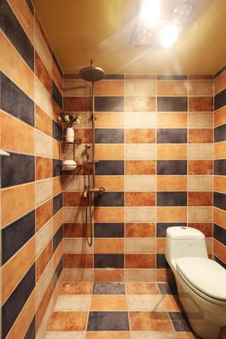 东南亚风格二居室卫生间装修效果图