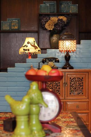 东南亚风格二居室装修客厅小景