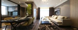 95平现代简约二居客厅装修效果