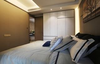 95平现代简约二居装修衣柜设计图