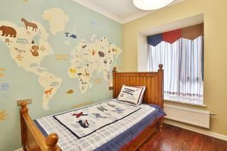 大户型美式乡村风格儿童房装修效果图