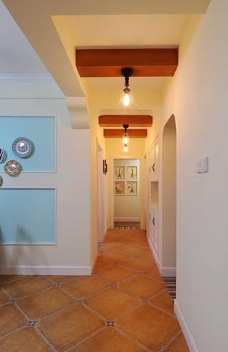 130平美式乡村风格走廊装修效果图