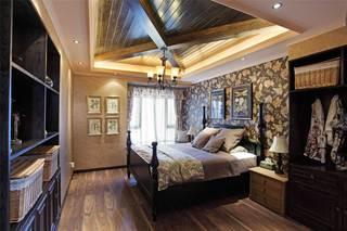 150平法式乡村风格卧室装修效果图