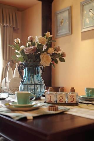 150平法式乡村风格装修餐桌摆件