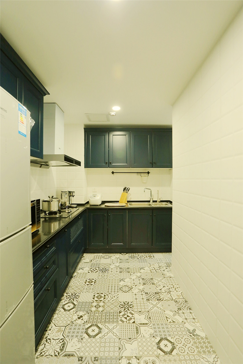 北欧LOFT混搭二居厨房装修效果图
