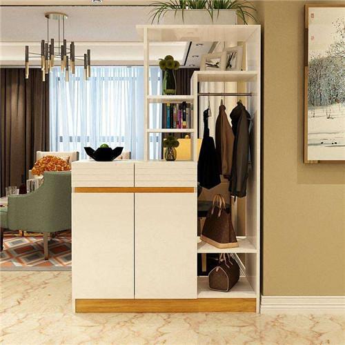客厅隔墙柜图片大全 90平小三室隔墙柜效果图欣赏