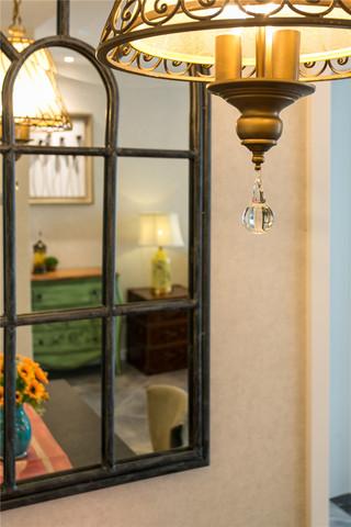 混搭风格二居装修餐厅吊灯设计