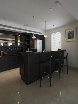 法式轻奢别墅装修吧台设计图