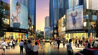 商业街设计效果图