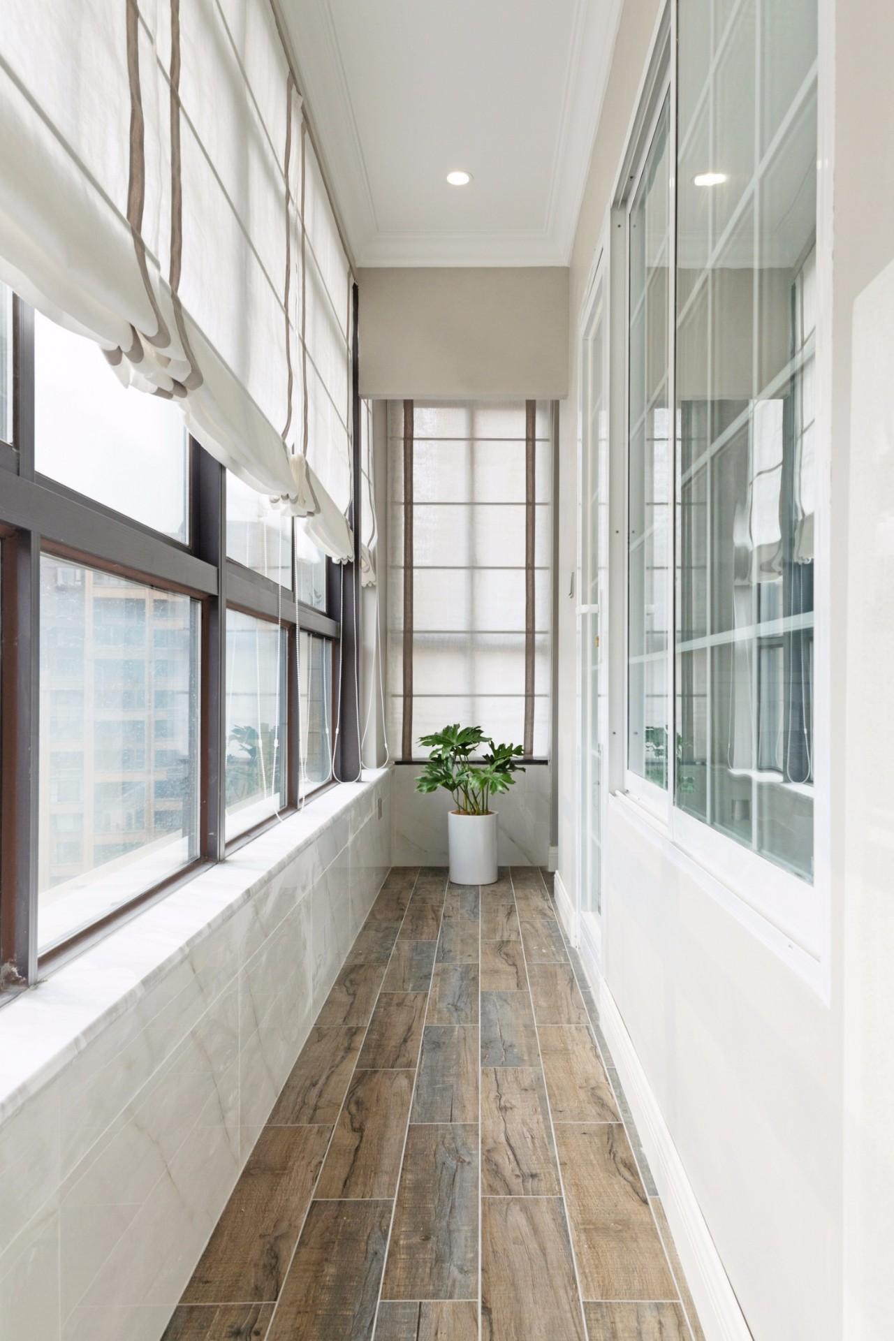 180㎡美式风格阳台装修效果图