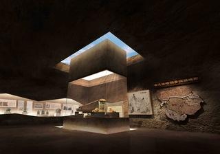 晋国博物馆装修设计效果图