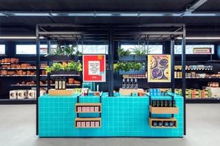 地中海风格超市装修效果图