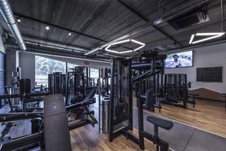 工业风格健身房装修设计图