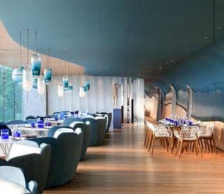 海洋主题餐厅装修效果图