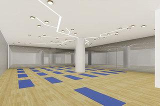 现代简约风健身房每日首存送20