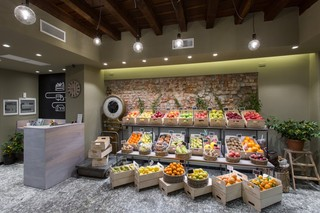 蔬菜水果店装修设计图