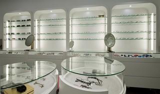 精品眼镜店装修设计图