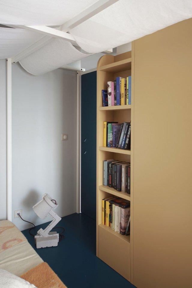 40㎡小户型公寓装修书架设计