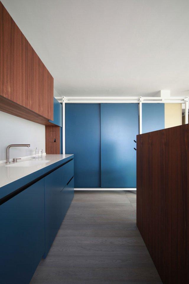 40㎡小户型公寓厨房装修设计图