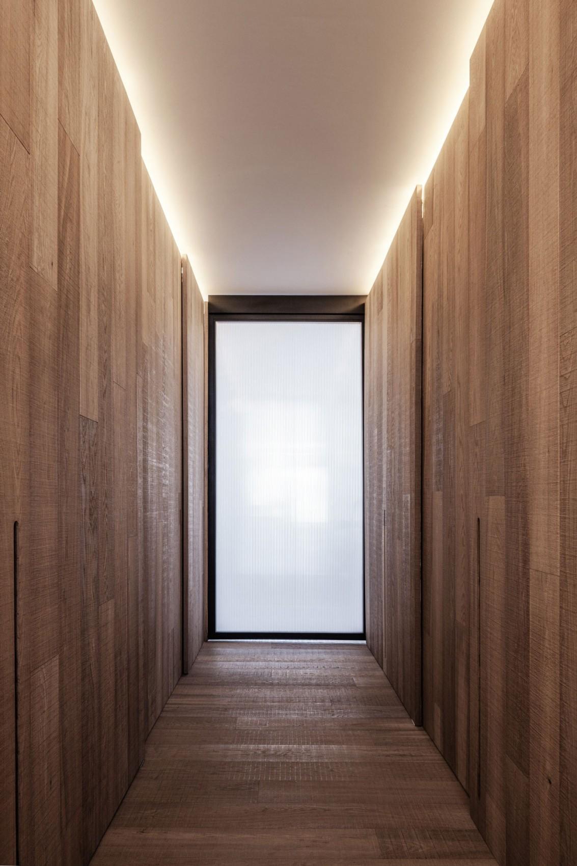 简约北欧风公寓走廊装修效果图