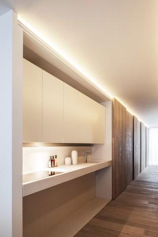 简约北欧风公寓装修洗手台设计图