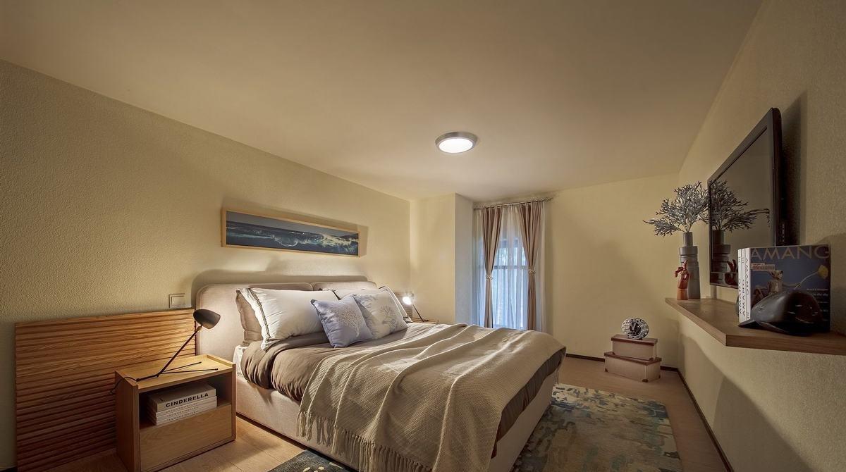 小户型北欧风两居室装修卧室效果图